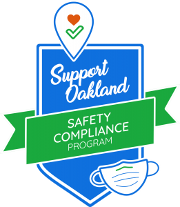 Oakland Safety Compliance Program, COVID-19 relief programs from Oakland Business Improvement Project
